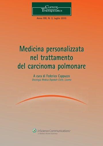 Medicina personalizzata nel trattamento del carcinoma polmonare ...