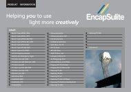 Katalog herunterladen (19mb) - Encapsulite Europe
