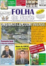 O PESADELO COLATINENSE - Folha do Norte