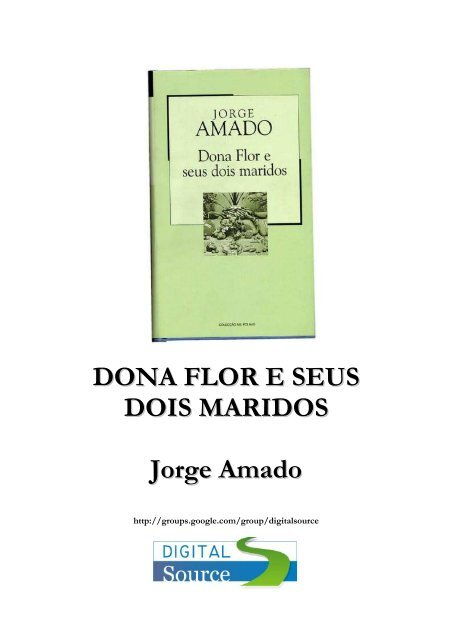 Jorge Amado Dona Flor E Seus Dois Maridos Pdf Blog De Banco