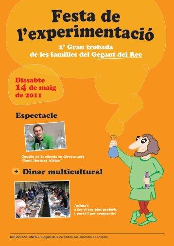 Espectacle Dinar multicultural + - Ampa El Gegant del Rec