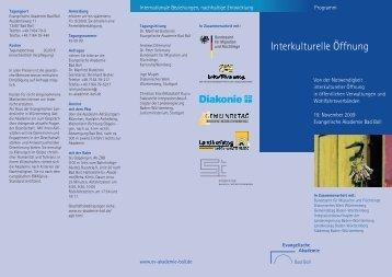 Interkulturelle Öffnung - Paritätischer Wohlfahrtsverband