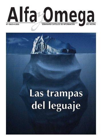 semanario católico de información edic. nacional nº ... - Alfa y Omega