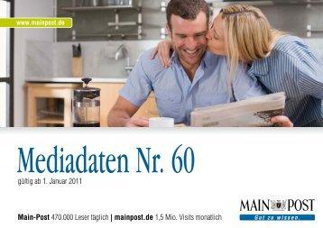Mediadaten Nr. 60 - Main-Post