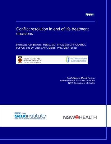 Primary prevention of chronic disease in Australia through ...