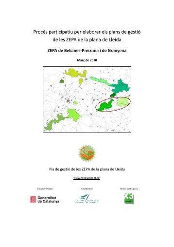ZEPA de Belianes-Preixana i de Granyena - Espai TReS