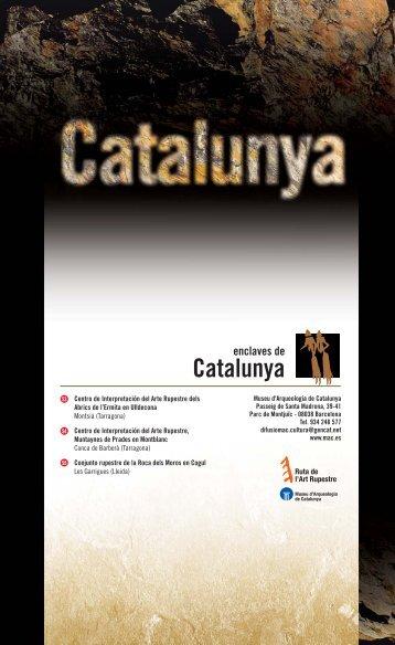 Catalunya - caminos de arte rupestre prehistórico