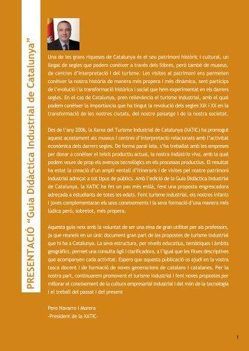 XATIC - Guia - Xarxa de Turisme Industrial de Catalunya