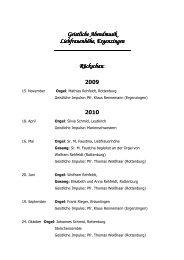 Geistliche Abendmusik Geistliche Abendmusik Liebfrauenhöhe ...