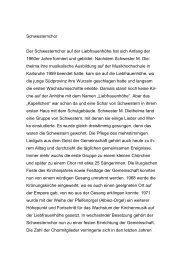 Schwesternchor Der Schwesternchor auf der Liebfrauenhöhe hat ...