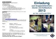 Grundkurs-2013 - Liebfrauenhöhe