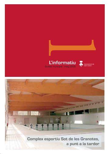 L'informatiu - Ajuntament de Sant Celoni