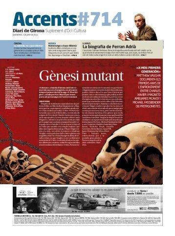 La biografia de Ferran Adrià Diari de Girona Suplement d'Oci i Cultura