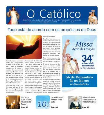 Edição Nº56 01/11/2012 - Santuário Nossa Senhora dos Prazeres