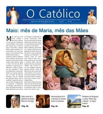 Edição Nº50 01/05/2012 - Santuário Nossa Senhora dos Prazeres