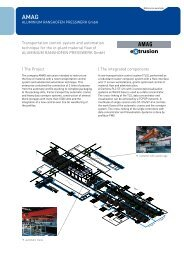 The integrated components Transportation ... - Aberle Automation