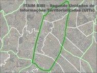 ITAIM BIBI Segundo Unidades de Informações - EmplasaGEO