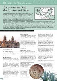 Die versunkene Welt der Azteken und Maya - Dr. Maiers Studienreisen
