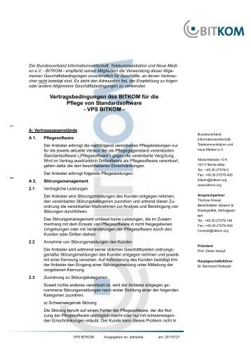 VPS BITKOM - admeritia IT-SECURITY