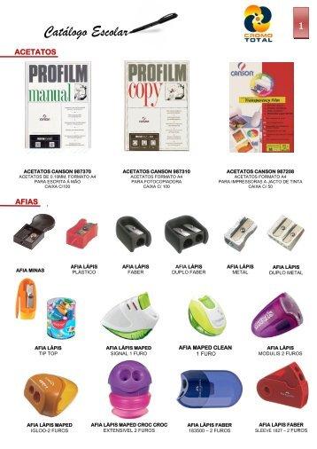 Catálogo Escolar - Cromototal