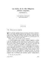 5. Las hablas de la Alta Ribagorza (Segunda parte)