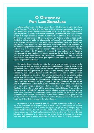 O orfanato - Luis González