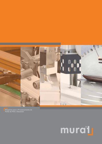 Maquinas para o Processamento de Perfis de PVC e ... - Murat Makina