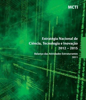 Estratégia Nacional de Ciência, Tecnologia e Inovação 2012 – 2015