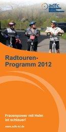 Radtouren- Programm 2012 - ADFC Rheinland-Pfalz