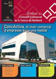ConcActiva, el viver comarcal d'empreses és ja una realitat - Consell ...