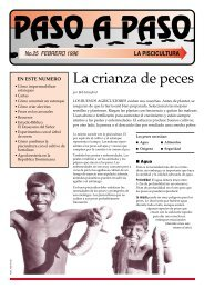 La crianza de peces - The Tearfund International Learning Zone