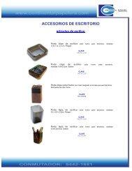 catalogo de productos - continental papelera de mexico