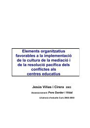 Elements organitzatius favorables a la implementació de la cultura ...