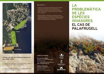 Actuacions espècies invasores 2009-2010 - Ajuntament de Palafrugell