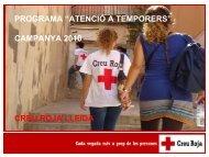 atenció a temporers - Ajuntament de Lleida