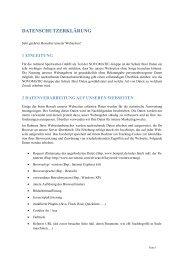 Datenschutzerklärung - Admiral Sportwetten