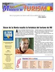 Boletín Informativo 5-4-2011 - Ministerio de Turismo