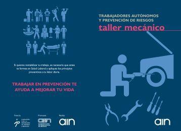 prevención en taller mecánico - Lineascen.cenavarra.es
