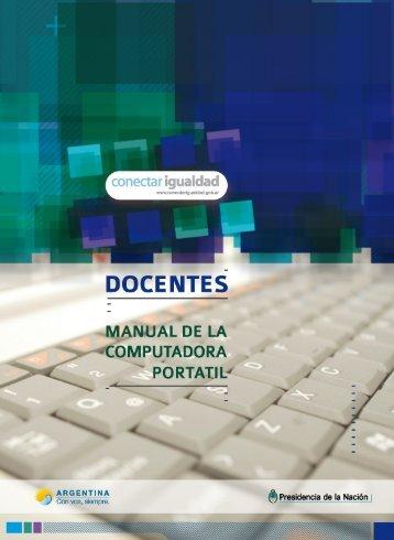 Manual del Docente de la Computadora Portátil - Conectar Igualdad