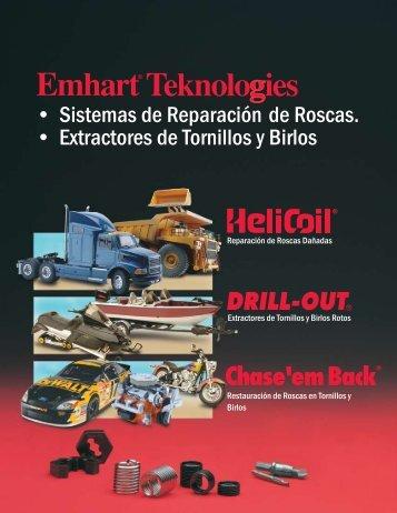 • Sistemas de Reparación de Roscas ... - Emhart Americas