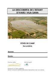 Secundaria - Estany d'Ivars i Vila-sana