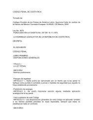 Código Penal de Costa Rica - Piaje.org
