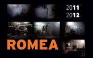 Teatre Romea. Temporada 2011/2012 - Grup Focus