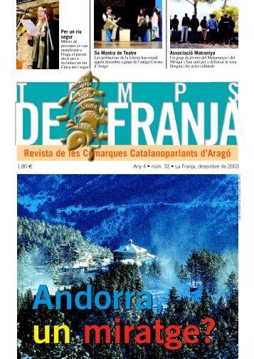 desembre, 2003 - Associació Cultural del Matarranya