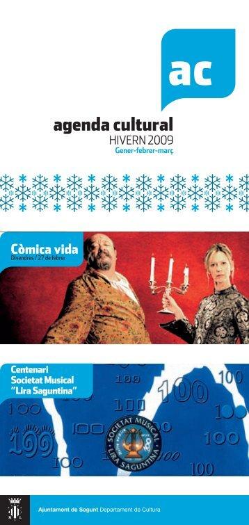 agenda cultural - Ayuntamiento de Sagunto