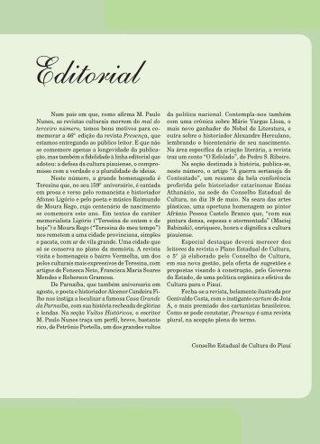 revista presença nº 46 - Cec.pi.gov.br