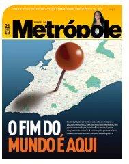 clique aqui para ver a matéria no jornal da metrópole - Metro1