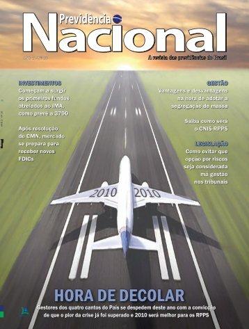 Ed. n° 10 - Nov/Dez 2009: HORA DE DECOLAR - APEPREM