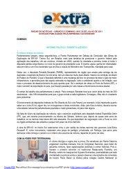 DOMINGO INFORME POLÍTICO   ROBERTO ... - Revista Exxtra