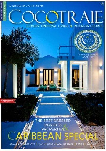 Cocotraie magazine, Ladera Villa At Paradise ... - Ladera Resort